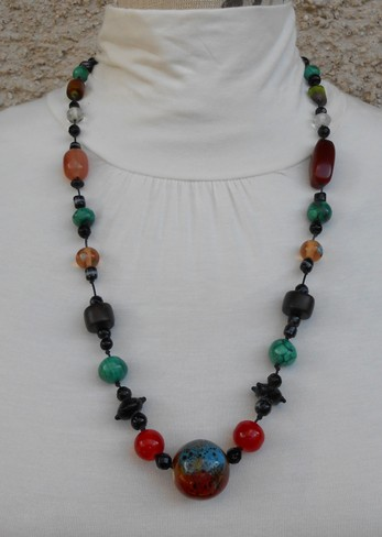 Collier d'inspiration africaine Réf. C50